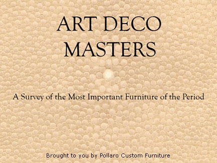 Enter Art Deco Masters